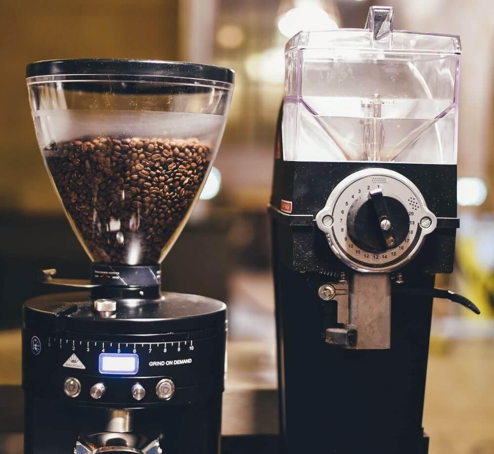 Kaffeemühle für Siebträger