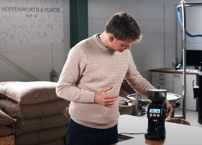 Matthias testet Sage Smart Grinder Pro Kaffeemühle