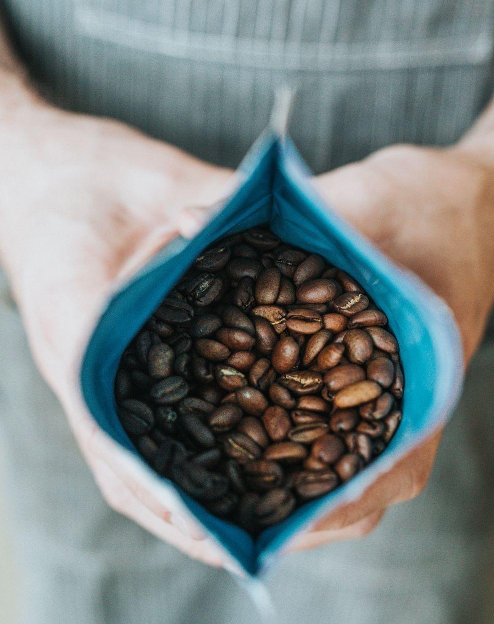 Kaffeebohnen koffeinfreier Kaffee