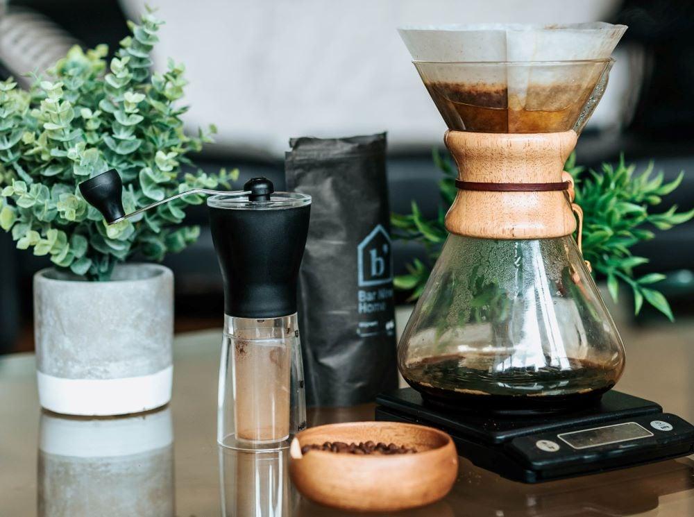 Ausstattung für Filterkaffee