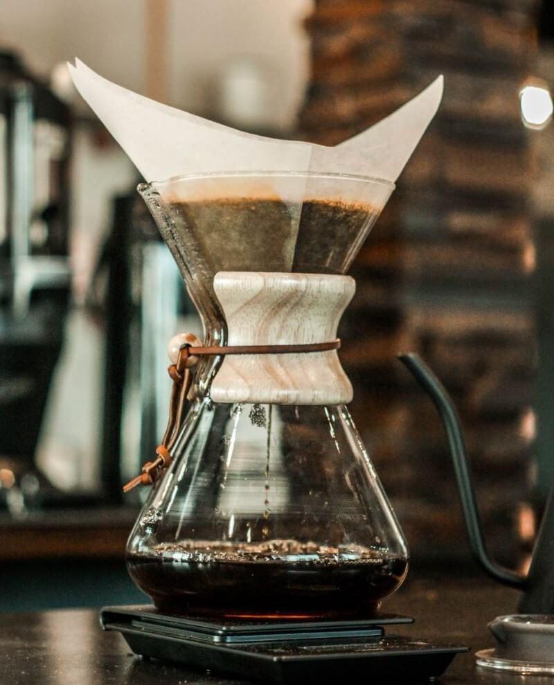 Filterkaffee mit der Chemex Karaffe