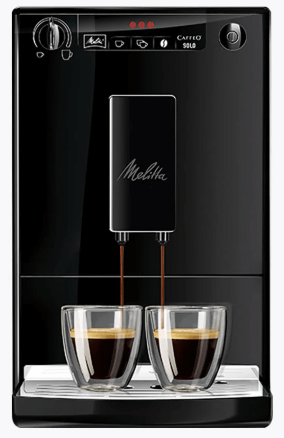 Melitta Caffeo Solo Pure Black Kaffeevollautomat