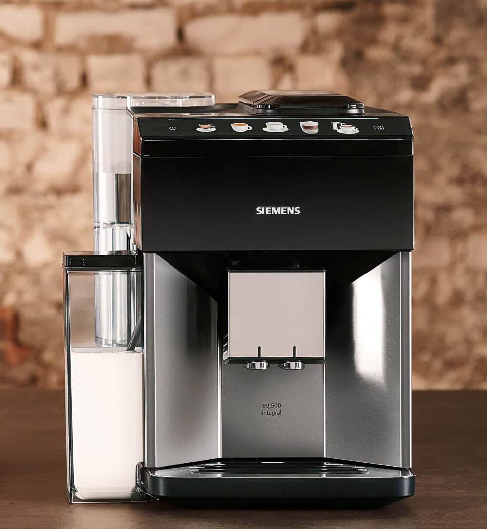 Siemens Kaffeevollautomaten mit Milchbehälter