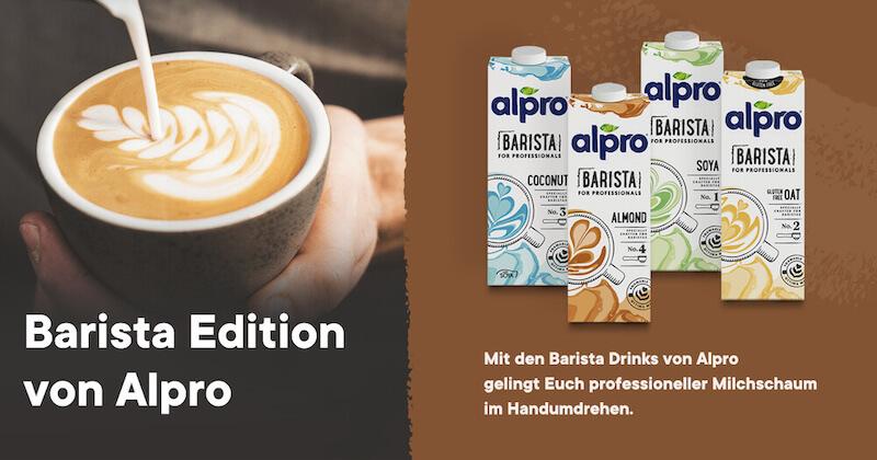 Alpro Barista Drinks