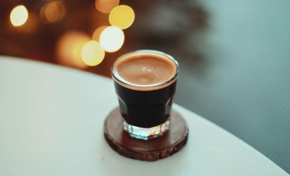 Espresso in Glastasse