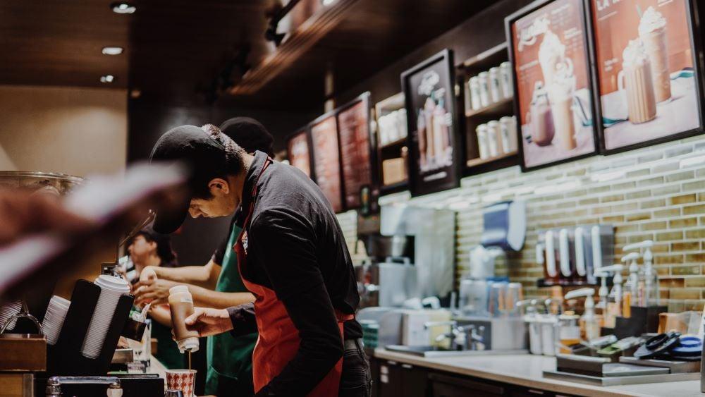 Frappuccino bei Starbucks kaufen