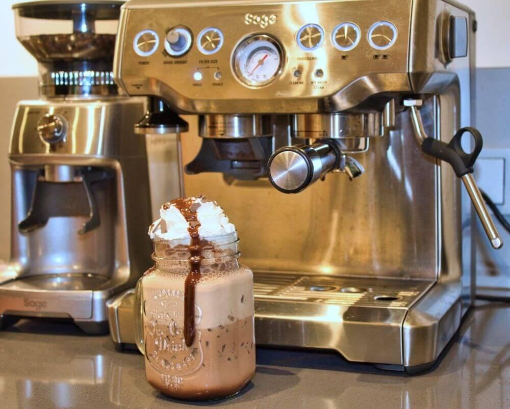 Frappuccino vor Sage Barista Express