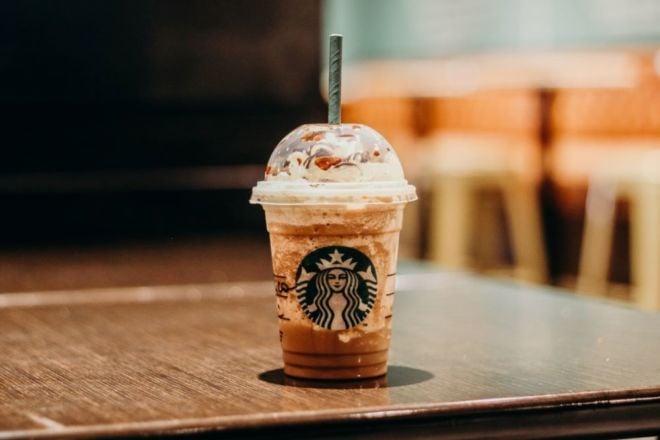 Frappuccino von Starbucks