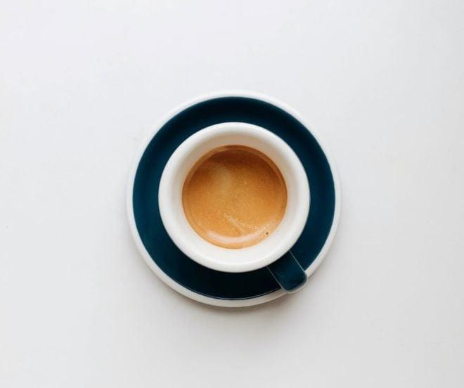 Caffè Doppio von oben