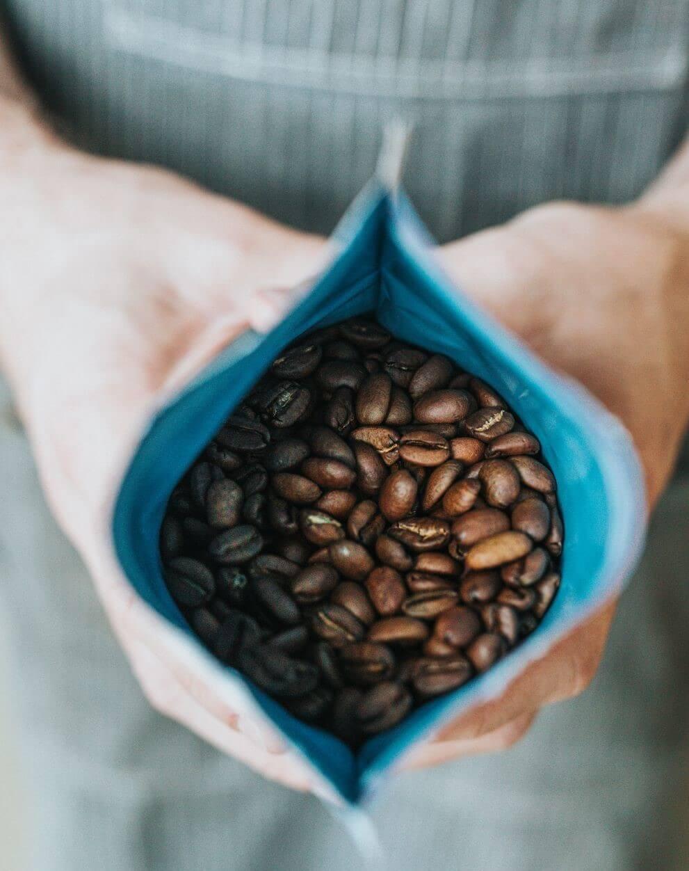Kaffeebohnen für Caffè Doppio