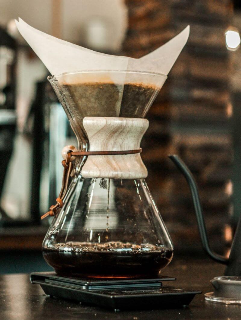 Filterkaffee kochen mit der Chemex